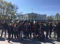 WCSA 8th Graders at the White House!