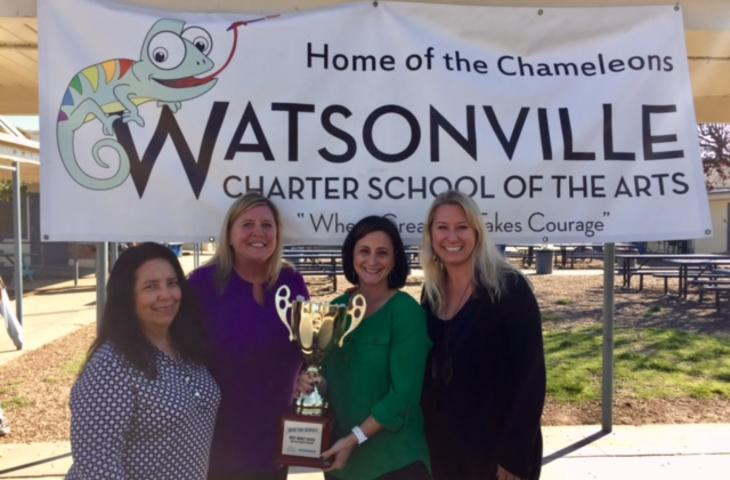 Our Drive for Schools Team received the Most Spirited Award for biggest growth  in ticket sales!